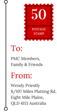 PMC Postcard Stamp